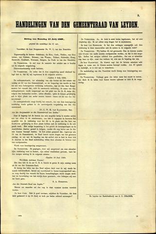Handelingen van de Raad 1869-07-12
