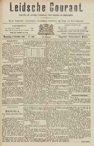 Leydse Courant 1887-10-17