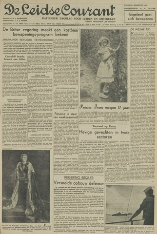 Leidse Courant 1950-08-04