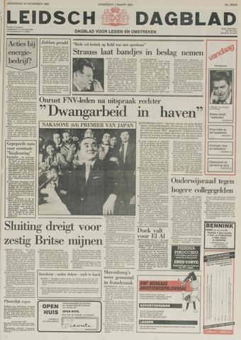Leidsch Dagblad 1982-11-24