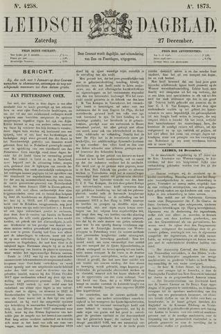 Leidsch Dagblad 1873-12-27