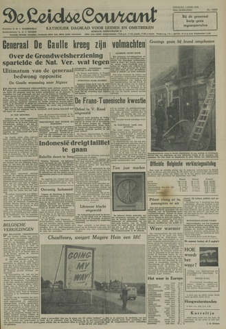 Leidse Courant 1958-06-03