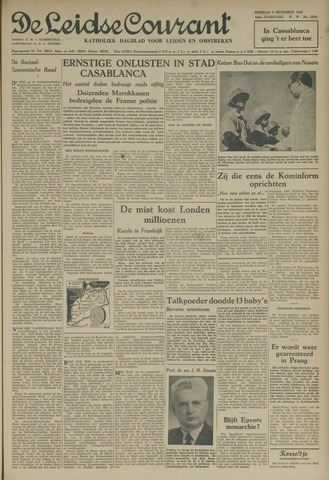Leidse Courant 1952-12-09