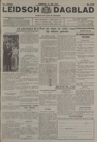 Leidsch Dagblad 1937-07-22