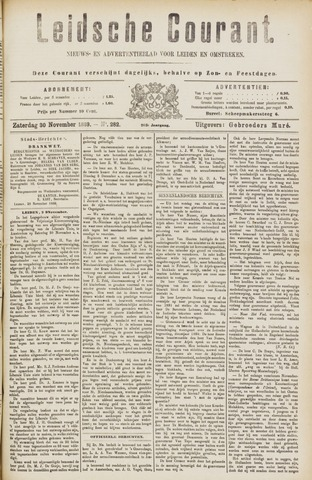 Leydse Courant 1889-11-30