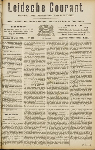 Leydse Courant 1890-06-14