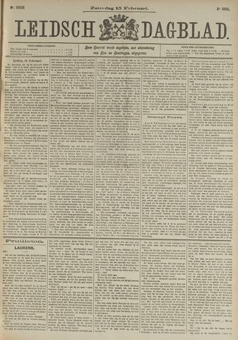 Leidsch Dagblad 1896-02-15
