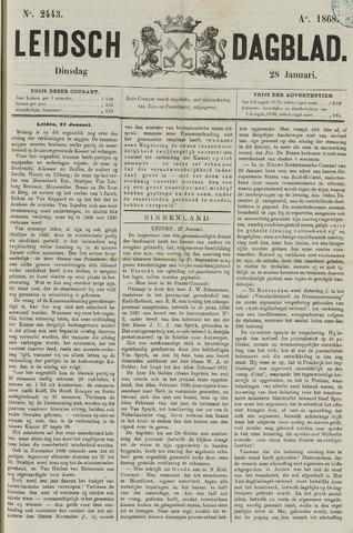 Leidsch Dagblad 1868-01-28