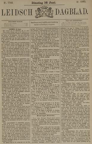 Leidsch Dagblad 1885-06-16