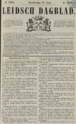 Leidsch Dagblad 1866-06-14