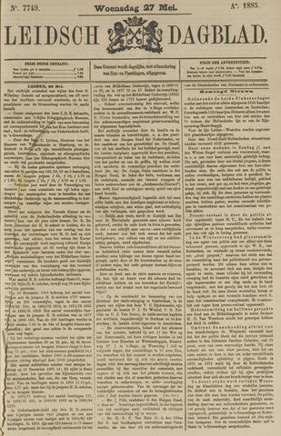 Leidsch Dagblad 1885-05-27
