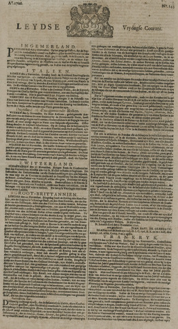 Leydse Courant 1726-11-29