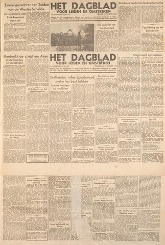 Dagblad voor Leiden en Omstreken 1944-10-12