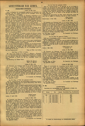 Handelingen van de Raad 1889-05-23