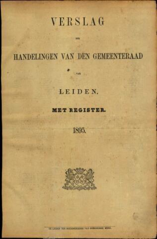 Handelingen van de Raad 1895-01-01
