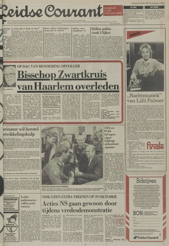 Leidse Courant 1983-10-22
