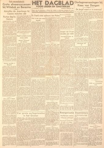 Dagblad voor Leiden en Omstreken 1944-02-08