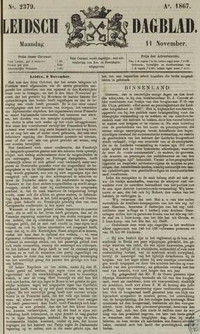 Leidsch Dagblad 1867-11-11