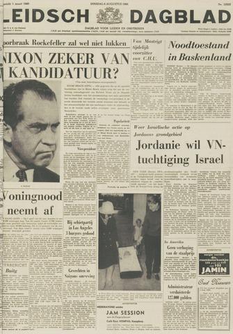 Leidsch Dagblad 1968-08-06