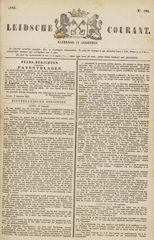 Leydse Courant 1883-08-11