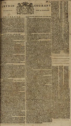 Leydse Courant 1784-02-25