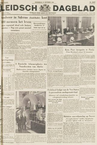 Leidsch Dagblad 1954-10-27