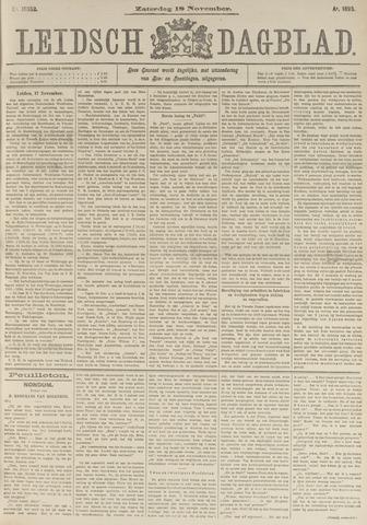 Leidsch Dagblad 1893-11-18