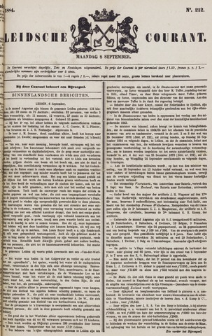 Leydse Courant 1884-09-08