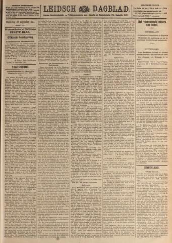 Leidsch Dagblad 1921-09-22