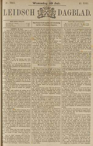 Leidsch Dagblad 1885-07-29