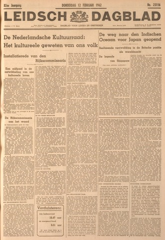 Leidsch Dagblad 1942-02-12