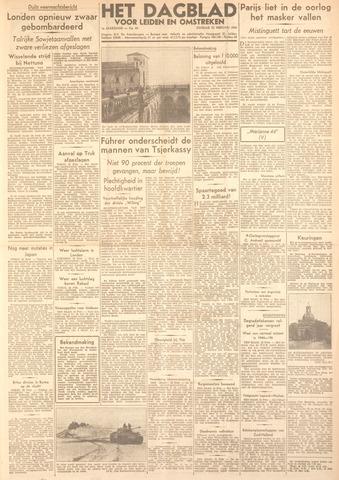Dagblad voor Leiden en Omstreken 1944-02-22