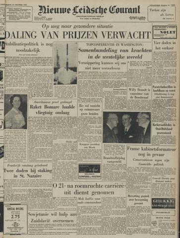 Nieuwe Leidsche Courant 1957-10-25