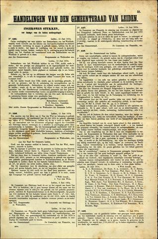 Handelingen van de Raad 1874-06-15