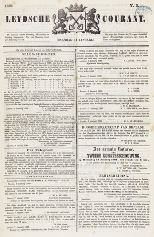 Leydse Courant 1869-01-11