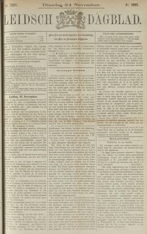 Leidsch Dagblad 1885-11-24