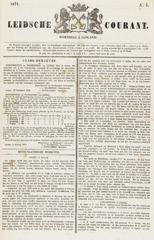 Leydse Courant 1871-01-04