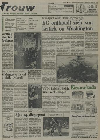 Nieuwe Leidsche Courant 1980-04-28
