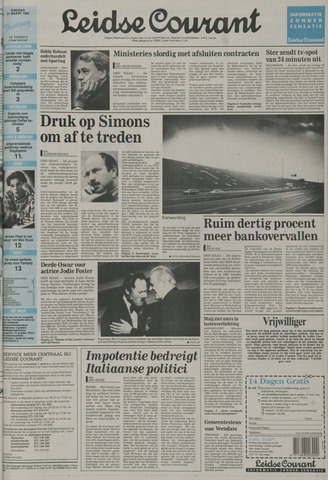 Leidse Courant 1992-03-31