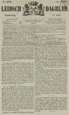 Leidsch Dagblad 1867-06-20