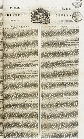 Leydse Courant 1843-09-22