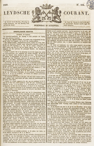 Leydse Courant 1860-08-29