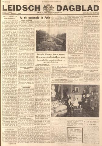 Leidsch Dagblad 1949-11-12