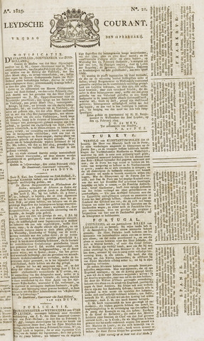 Leydse Courant 1825-02-18