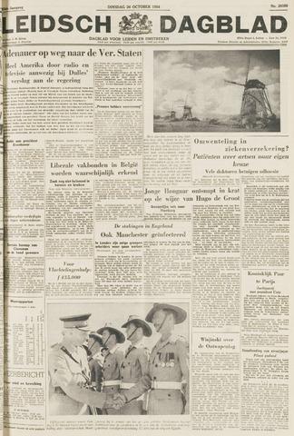 Leidsch Dagblad 1954-10-26