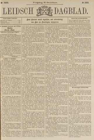 Leidsch Dagblad 1893-10-06