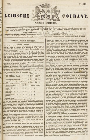 Leydse Courant 1872-11-05