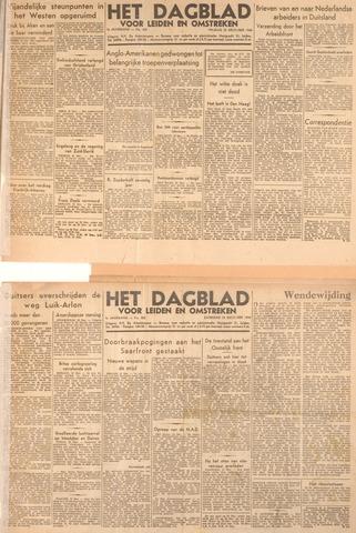 Dagblad voor Leiden en Omstreken 1944-12-22