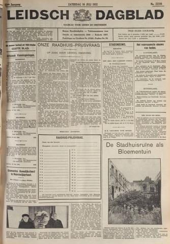 Leidsch Dagblad 1932-07-16