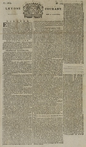 Leydse Courant 1803-08-29